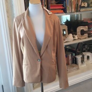 NWT Forever 21 Career Jacket in Taupe